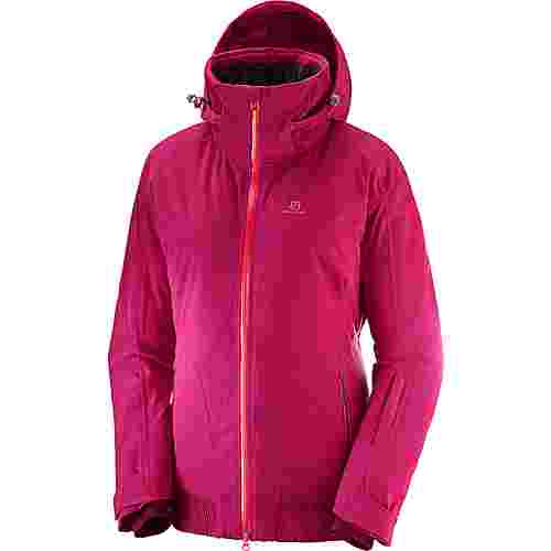 Salomon CATCH Skijacke Damen cerise