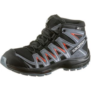 Salomon Multifunktionsschuhe Kinder black-stormy weather-cherry to