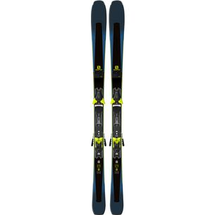 Salomon XDR 80 Ti All-Mountain Ski Black