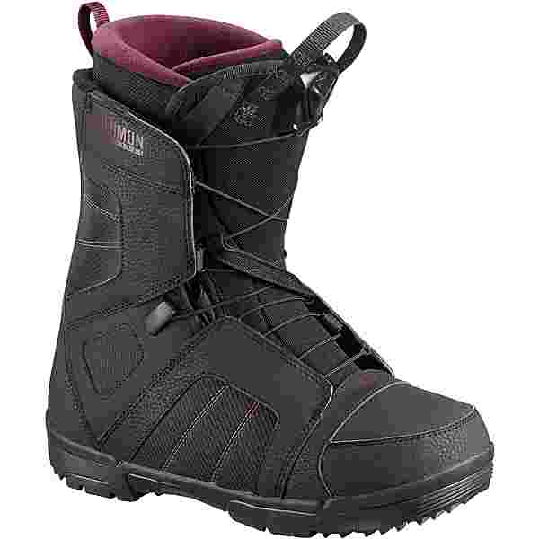 Salomon Scarlet Snowboard Boots Damen black