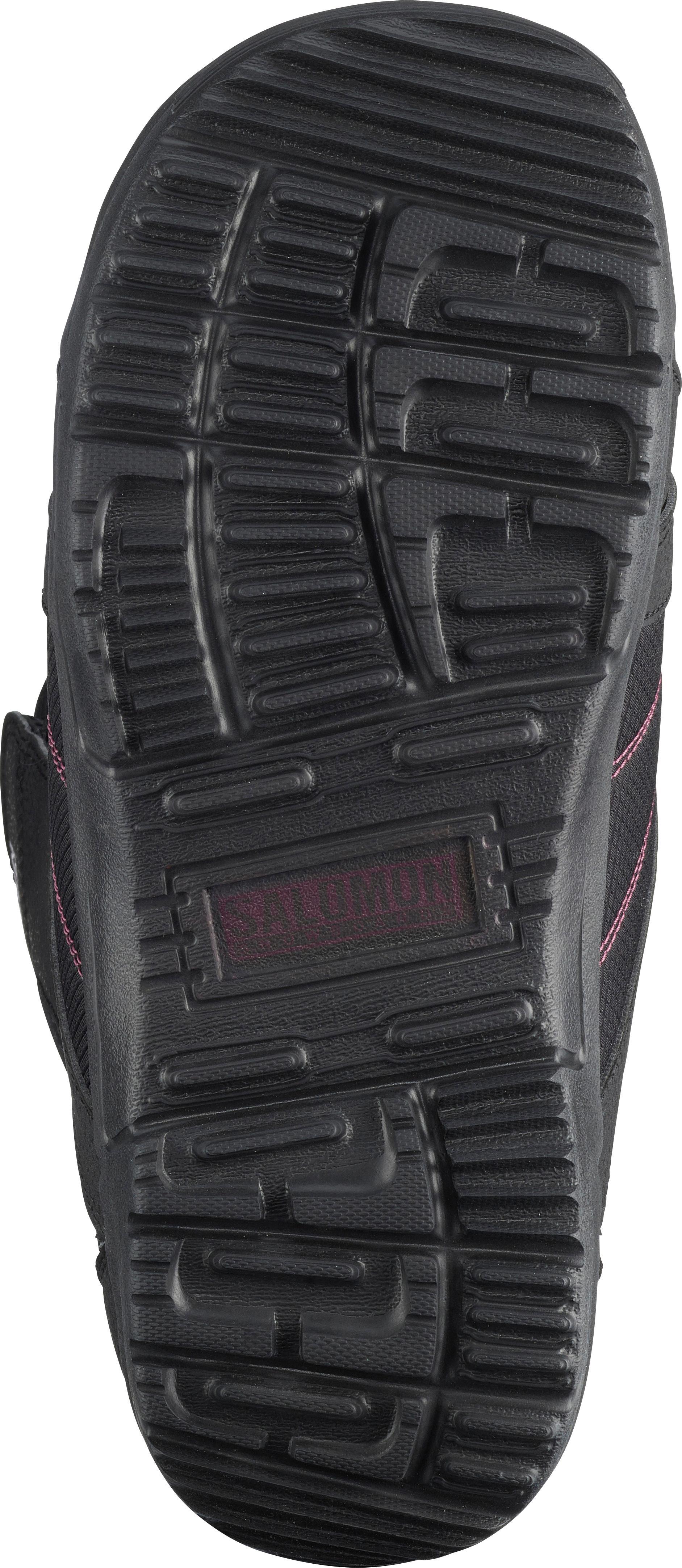 Salomon Scarlet Snowboard Stiefel Damen schwarz im Online Shop von von von SportScheck kaufen Gute Qualität beliebte Schuhe 50227a