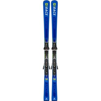 Salomon S/RACE SHOT GS All-Mountain Ski Blue/Yellow