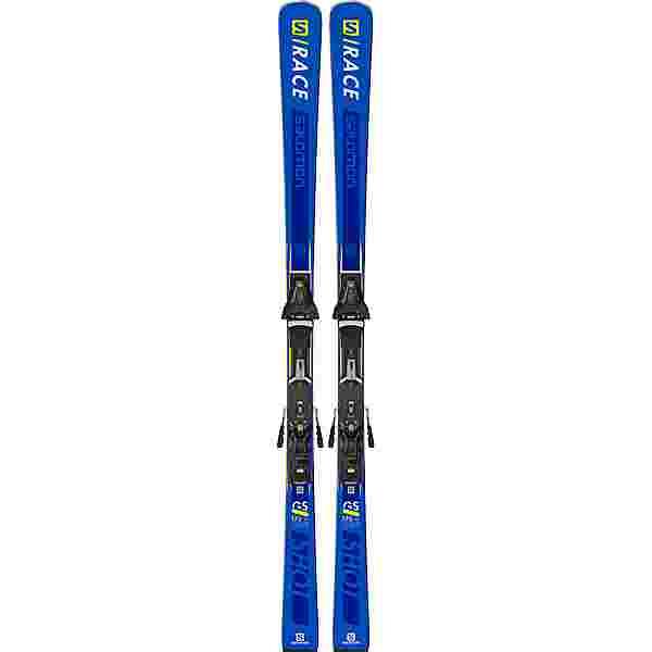 Salomon S/RACE SHOT GS All-Mountain Ski Blue/Yellow
