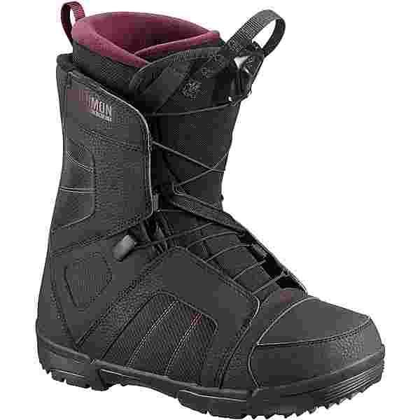 Salomon Pearl Boa Snowboard Boots Damen black