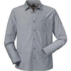 Schöffel Madeira2 Langarmhemd Herren silver filigree