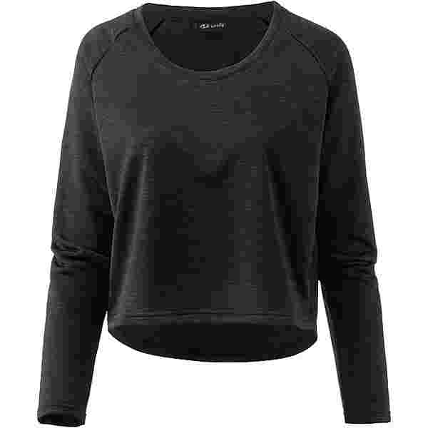 unifit Sweatshirt Damen schwarz