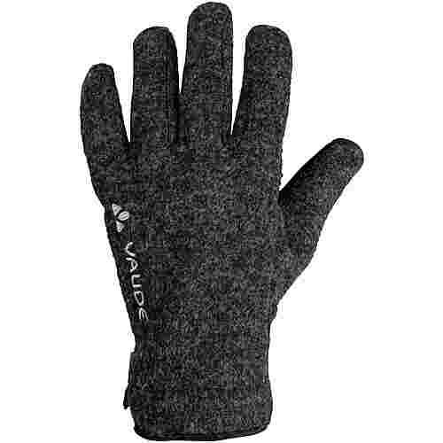 VAUDE Merino Rhonen IV Fingerhandschuhe phantom black