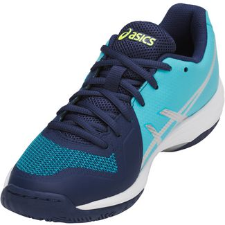 ASICS GEL-TACTIC Multifunktionsschuhe Damen indigo blue-silver