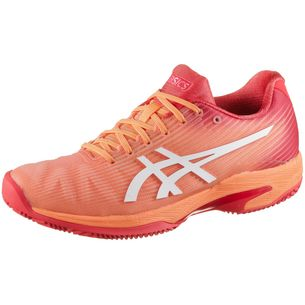 ASICS SOLUTION SPEED FF CLAY Tennisschuhe Damen mojave-white