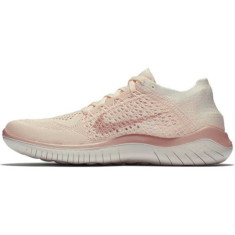cheap for discount 0bb0b db5f1 Nike Free RN Flyknit 2018 Laufschuhe Damen guava-ice-particle-beige-sail
