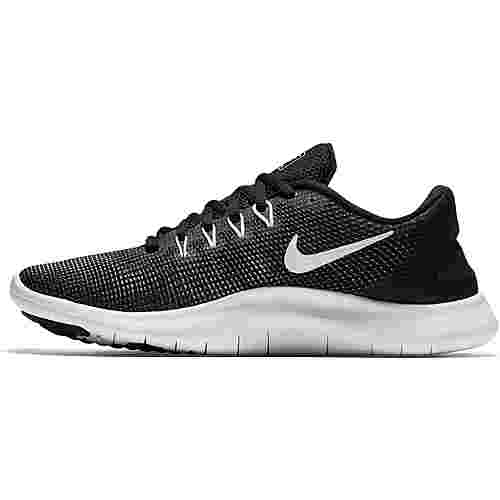 Nike Flex 2018 RN Laufschuhe Damen black-white