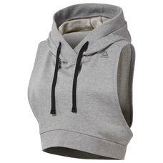 Reebok Funktionssweatshirt Damen Medium Grey Heather