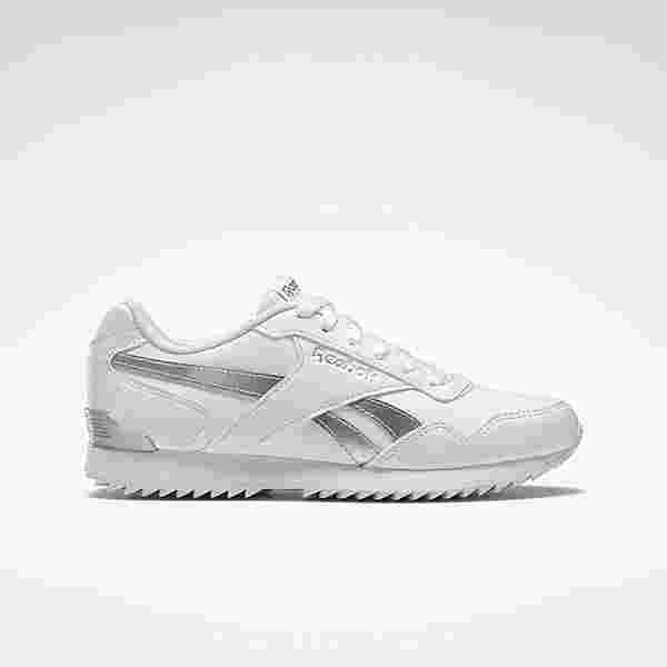 Reebok Reebok Royal Glide RPL Clip Sneaker Damen White / White / Silver Metallic