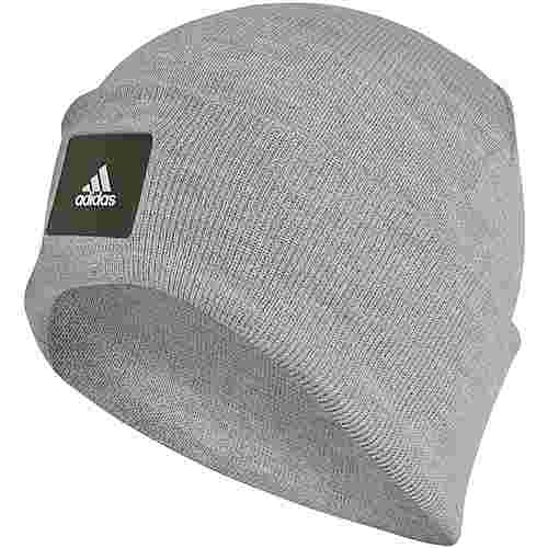 adidas Teen Size Beanie Kinder medium grey heather