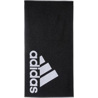 adidas Handtuch black