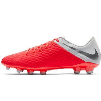 c11795539ba Nike HYPERVENOM 3 ACADEMY FG Fußballschuhe lt crimson-mtlc dk grey-wolf grey -