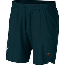 Nike NY Federer Day & Night FLX Short 9 in Tennisshorts Herren midnight spuce