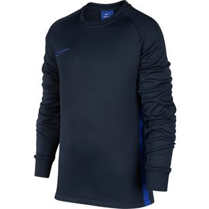 Nike Therma Academy Funktionsshirt Kinder obsidian-hyper royal-hyper royal-hyper royal