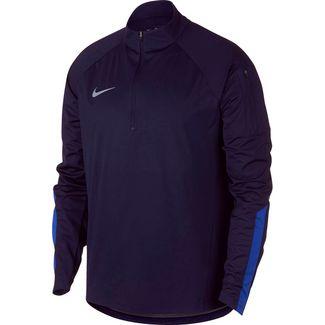 Nike Squad Funktionsshirt Herren blackened blue-hyper royal-reflective silv