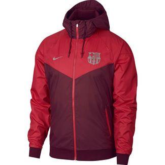 Nike FC Barcelona Windbreaker Herren deep maroon-tropical pink