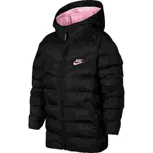 Nike Steppjacke Kinder black-black-black-pink