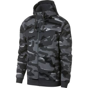 Nike NSW Club FZ Sweatjacke Herren cool-grey-anthracite-white