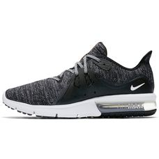 Nike Air Max Sequent3 Sneaker Herren black-white-dark grey