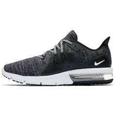 Nike Air Max Sequent3 Sneaker Herren black-white-dark grey