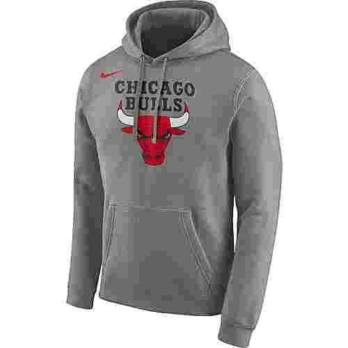 Nike Chicago Bulls Hoodie Herren dark grey heather