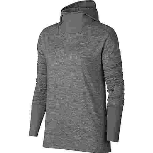 Nike Laufhoodie Damen gunsmoke/reflective silver