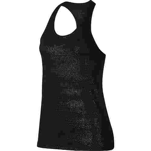 Nike Pro Funktionstank Damen black/black