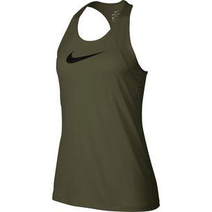 Nike Pro Funktionstank Damen olive canvas/black