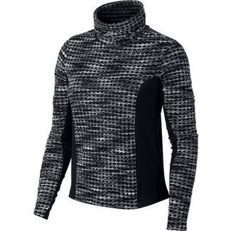 Nike Pro Hyperwarm Funktionsshirt Damen black/black