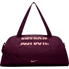 Nike Gym Club Sporttasche Damen bordeaux/storm pink