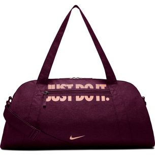 Nike Gym Club Sporttasche Damen bordeaux/storm pink