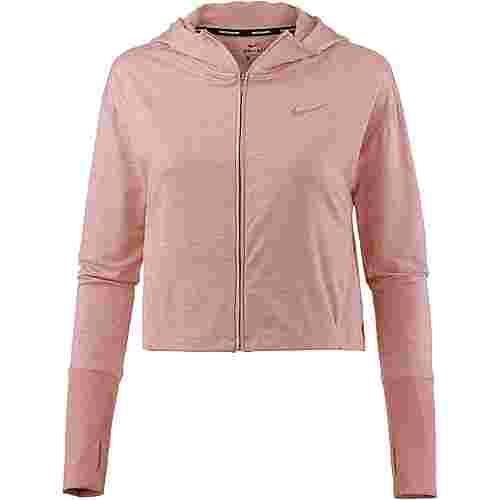 Nike Laufshirt Damen rust pink-heather