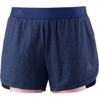 adidas Soft Funktionsshorts Damen mystery ink