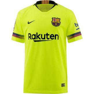 Nike FC Barcelona 18/19 Auswärts Fußballtrikot Kinder volt-deep royal blue