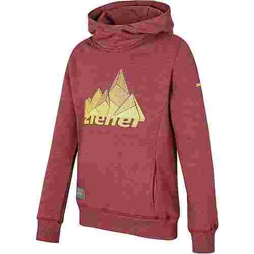Ziener Funktionssweatshirt Kinder burgundy