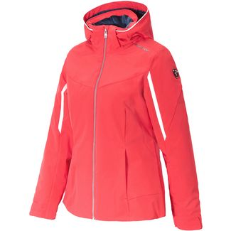 Ziener Tafia Skijacke Damen fiery red