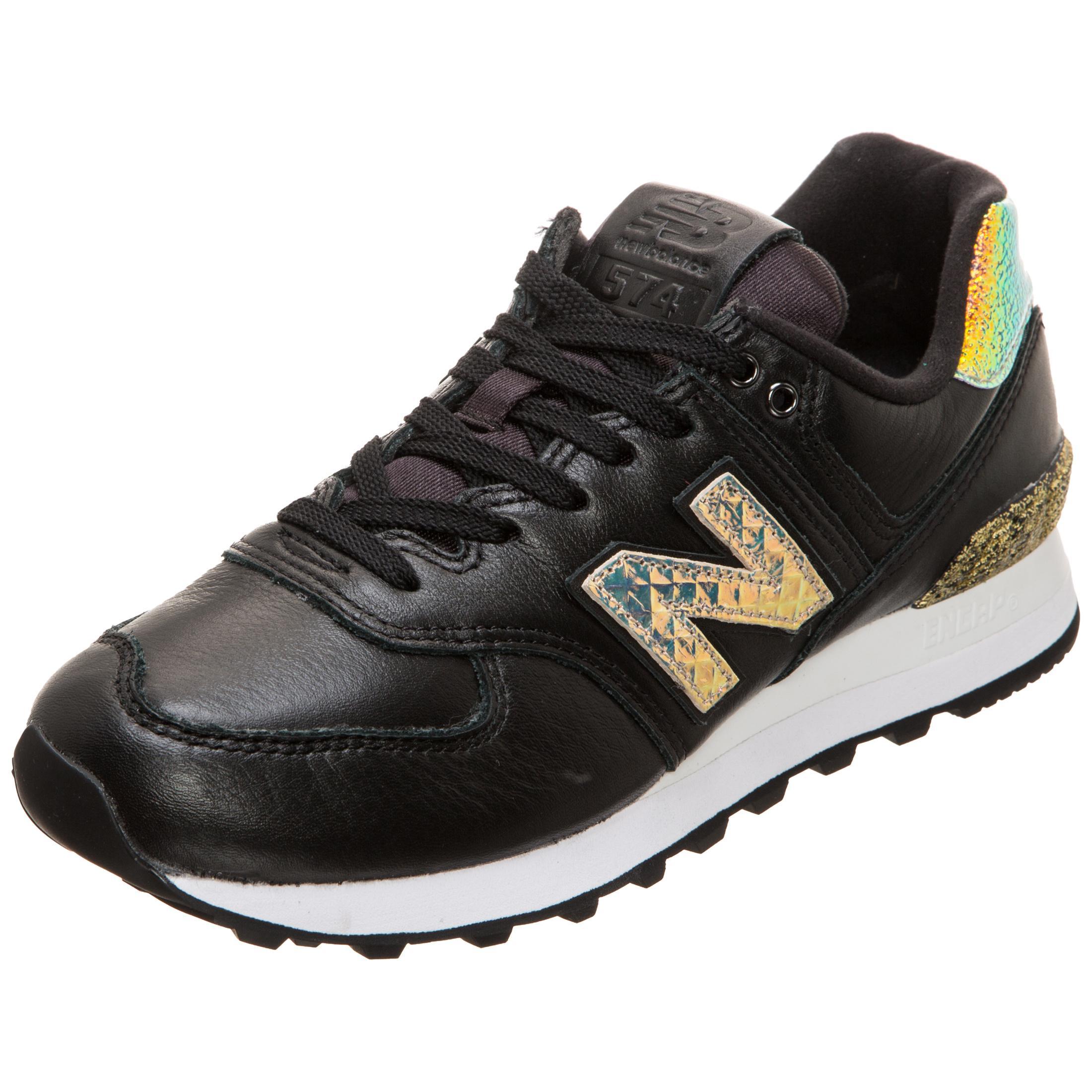 NEW BALANCE WL574-NRH-B Sneaker Damen schwarz / gold im Online Shop von  SportScheck kaufen