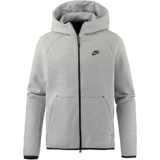 86efbea817174 Nike NSW TECH FLEECE Kapuzenjacke Herren dk grey heather-black-black