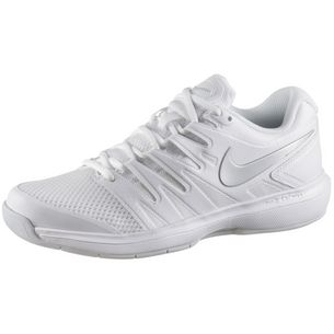 Nike AIR ZOOM PRESTIGE CPT Tennisschuhe Damen white-silver