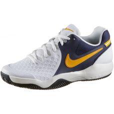 Nike AIR ZOOM RESISTANCE CLY Tennisschuhe Herren white-orange peel