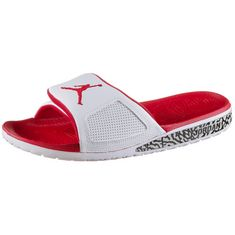 Nike JORDAN HYDRO III Sandalen Herren white-fire red