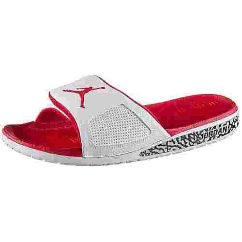 Nike JORDAN HYDRO III Badelatschen Herren white-fire red
