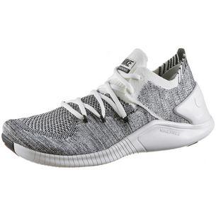 Nike Free TR Flyknit 3 Fitnessschuhe Damen white-white-black
