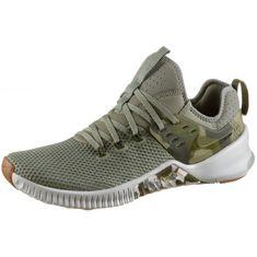 Nike Metcon Free Fitnessschuhe Herren dk-stucco-olive-canvas-lt silver