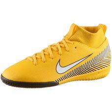 Nike MERCURIAL JR SPRFLYX 6 ACADEMY GS NJR IC Fußballschuhe Kinder amarillo-white-black-black