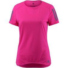 adidas Response Laufshirt Damen shock pink